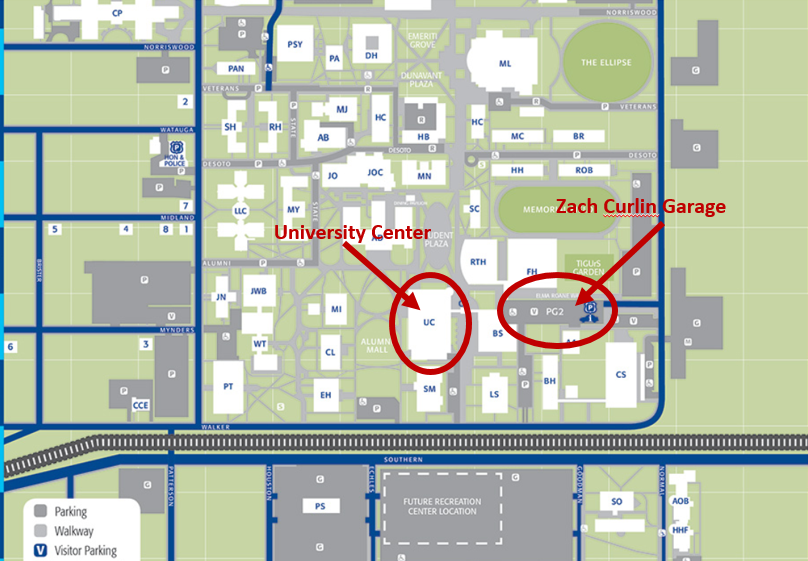 u of memphis map Venue Directions She S All That Memphis u of memphis map